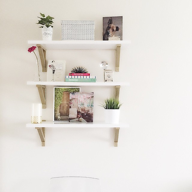 Todays home project  finally installed these ikeausa shelves allhellip