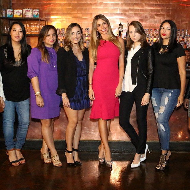 Hangin out with SofiaVergara and these blogger babes at theskinnycowhellip