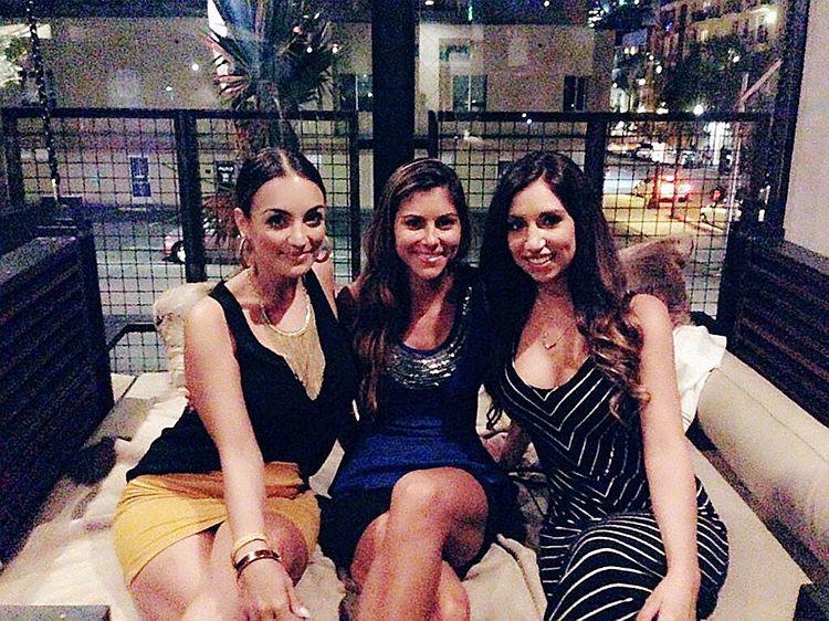Night out with these babes aundreacardoza reneevirginia kettnerexchange sandiego saturdayhellip